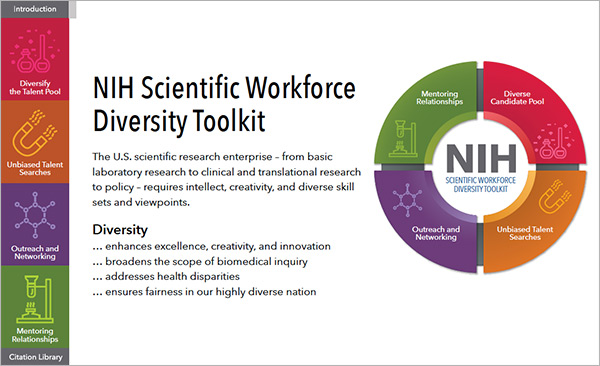 Home | Scientific Workforce Diversity at NIH